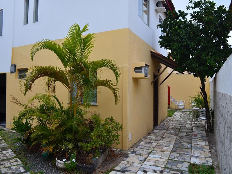 vista da área externa e entradas - Cozy 36 m2 apt close the beach at Stella Mares - Salvador - rentals