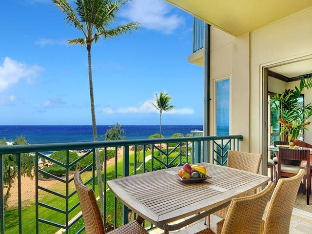 Lanai Out Door Dining - Waipouli Beach Resort A306 - Kapaa - rentals