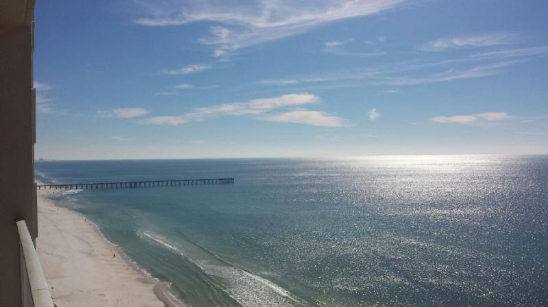 Amazing panoramic views. Pier Park is just down the street at the pier. - 1 Bedroom Condo with Incredible Views at Tidewater - Panama City Beach - rentals