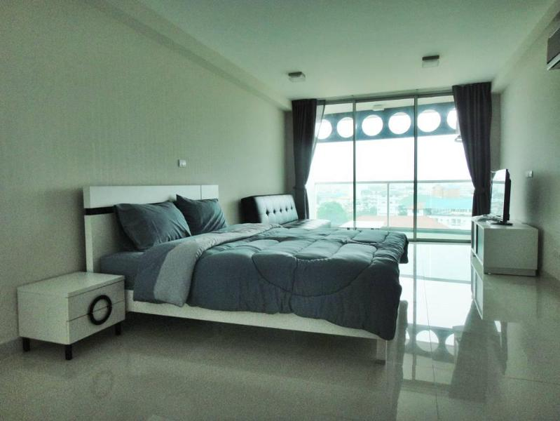 Brand new Studio 43sqm, 8 th floor-unit 801in Park Royal 2 - Image 1 - Pattaya - rentals