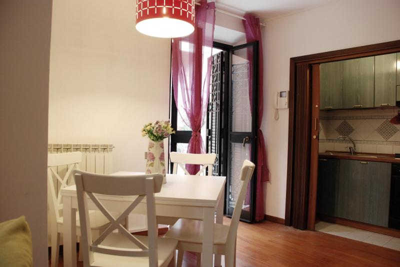 The dining room view #1 - Palazzo Velli - Angelo Brunetti Suite - Rome - rentals