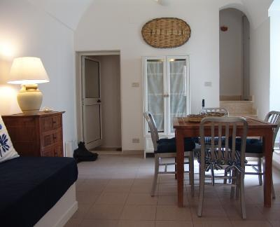 Living room - House with character La Pergola 2/4 pax - Monopoli - rentals