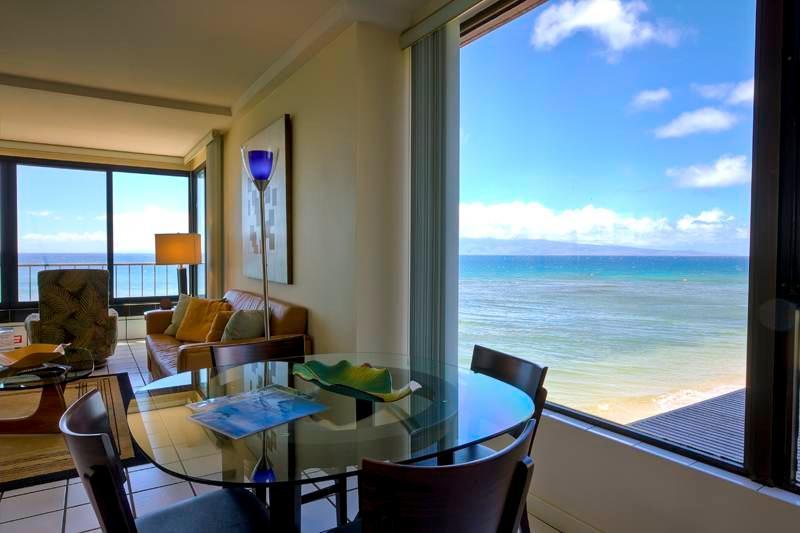 Maui Kai #308, Stunning Oceanfront 1-Bdroom corner - Image 1 - Ka'anapali - rentals