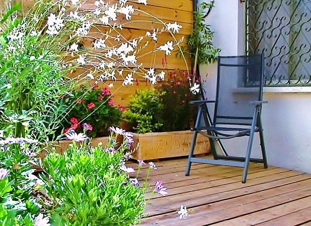 private balcony - zimmerise - accomodation unit in Kfar saba - Kfar Saba - rentals