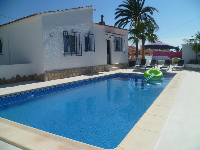 pool - VILLA PRIV POOL 3 BEDROOMS A/C SEA VIEW 5MIN BEACH - Calpe - rentals