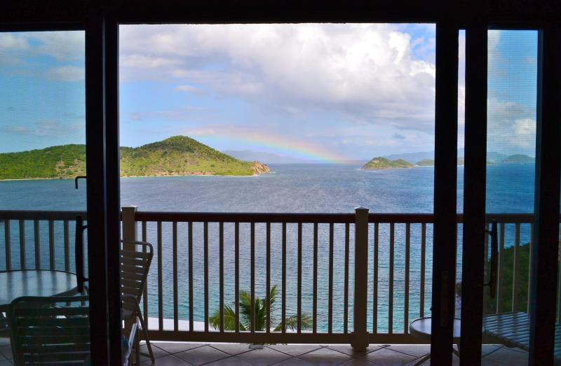 View from our living room - St. Thomas Caribbean Villa Benefits US Military - East End - rentals