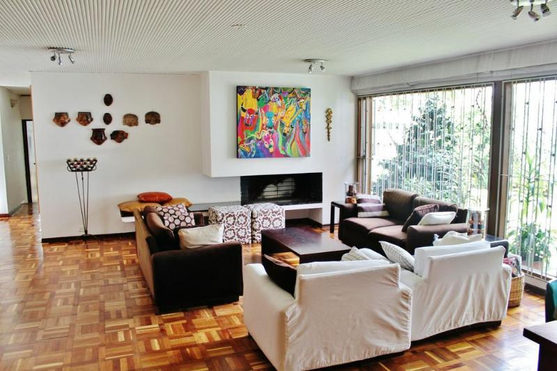 Living Room - Fantastic big house in Bogotá - Bogota - rentals