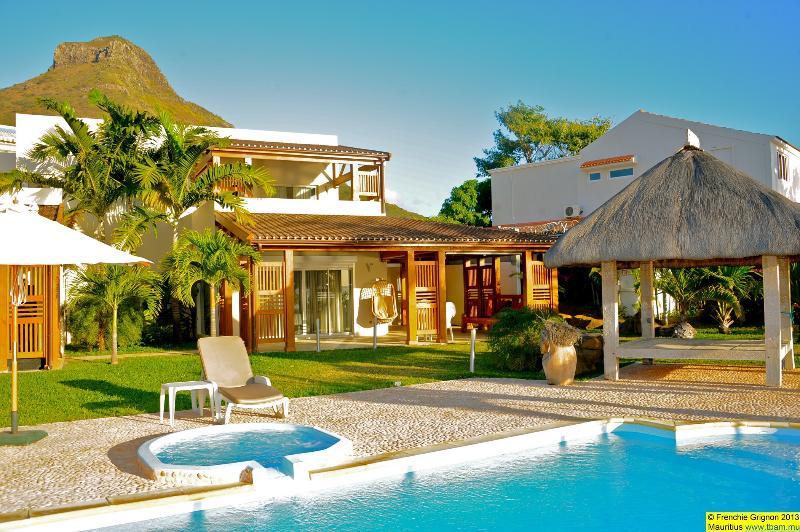View from the beach - Tamarin Beach Villa Mauritius - Tamarin Beach Apartments Mauritius' beach villa - Tamarin - rentals