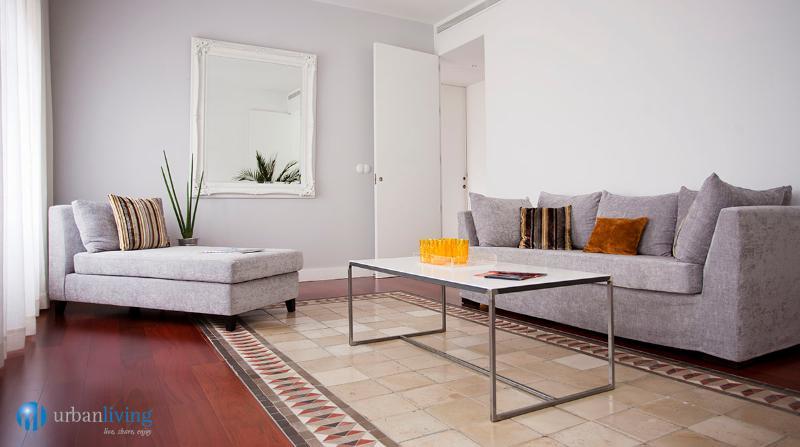 Living Room - Liborio1 - serviced apartments in Málaga center - Malaga - rentals