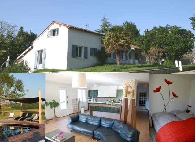 Countryside Holiday Home with pool in SW France 4p - Image 1 - Loubes-Bernac - rentals