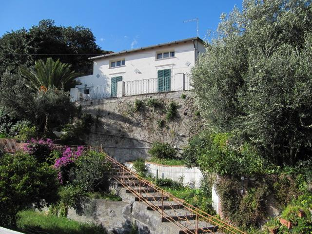 The house from the garden - I Tre Alberi - House of the Palm Tree - Giardini Naxos - rentals
