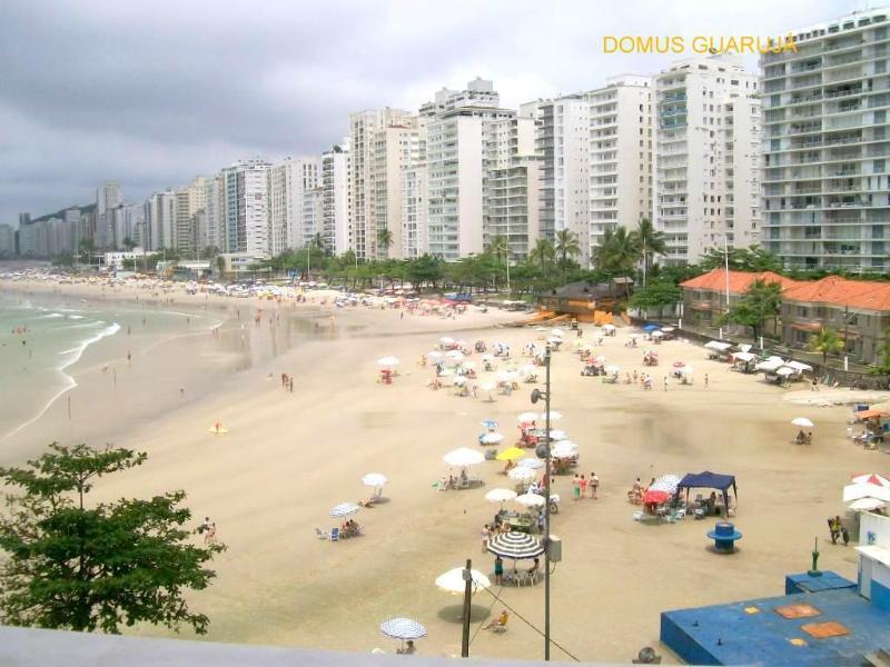 Vista da sacada - Guarujá, Pitangueiras Frente total para o mar - Guaruja - rentals