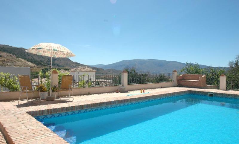 private pool - Casa GRANADO villa with stunning views, pool, WIFI - Chite - rentals