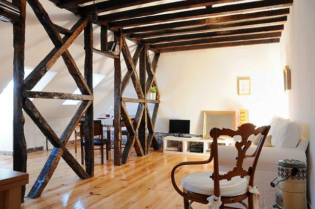 Living room. - Historical Central Penthouse fully renovated - Lisbon - rentals