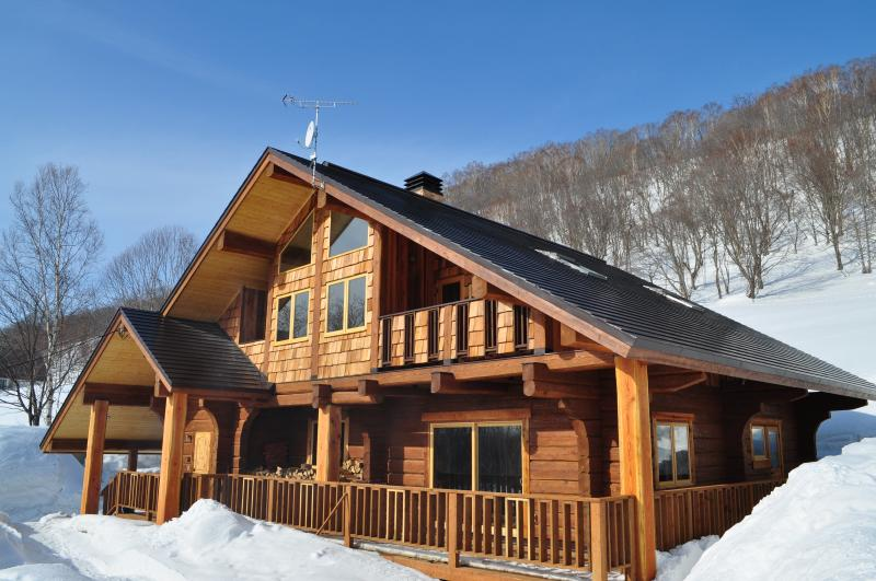 Looking over towards Annupuri - Luxury Chalet btw Niseko Village & Annupuri - Niseko-cho - rentals