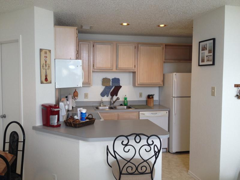 Full kitchen and bar - Painted seagull - Chapman Ranch - rentals