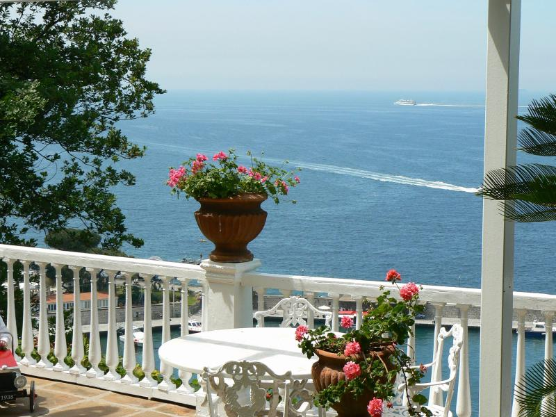 private terrace with amazing sea view - Casa Silvana, garden & seaview in Sorrento center - Sorrento - rentals
