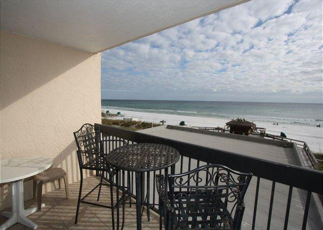 Balcony & Beautiful View of Gulf - Sundestin 309 Beautiful 1 BR Condo Right on the Beach! - Destin - rentals