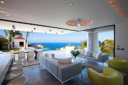 Palm Springs villa offers stunning sunset & ocean views from chic outdoor space - Image 1 - Gouverneur - rentals