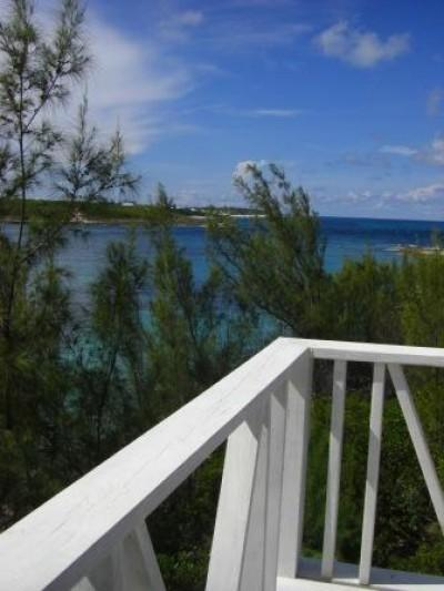 View from Crow's Nest out to sea - The Boat House - Dunmore Town - rentals