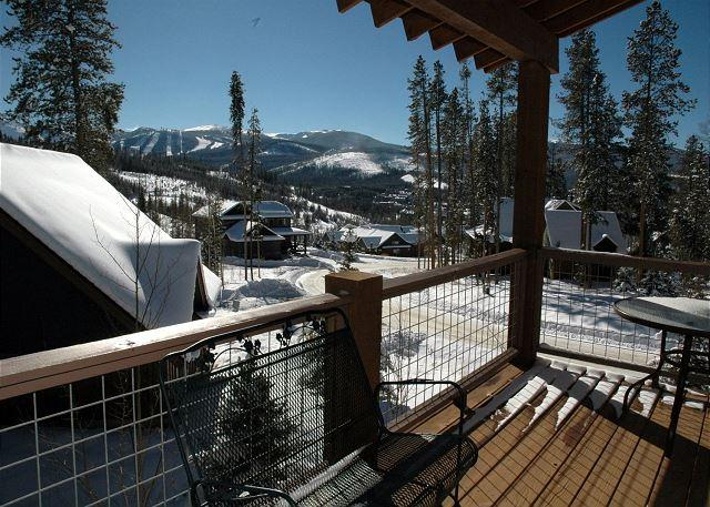 Gorgeous views from private balcony - Luxurious 3 bed 3.5 bath home 2 mins from Winter Park with Private Shuttle. - Winter Park - rentals