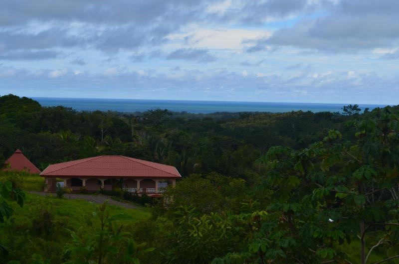 Main house - Ocean view Organic Permaculture Ranch, Luxury Eco - Esterillos Este - rentals