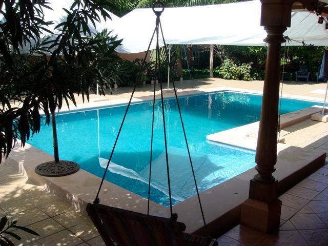 Nice lap swimming pool - Emma's Guest Cottage -beautiful Granada, Nicaragua - Granada - rentals