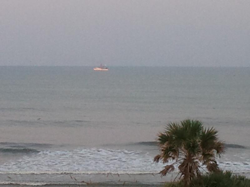 View from front porch - Fabulous Oceanfront Townhouse - Flagler Beach - rentals