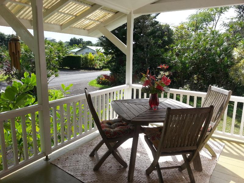 Front Lanai - Beautiful old plantation home - Pahoa - rentals