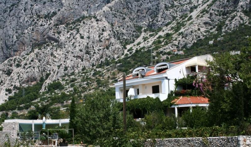 Ferien Villa - Seaview Villa with pool, tenniscourt and garden - Podgora - rentals