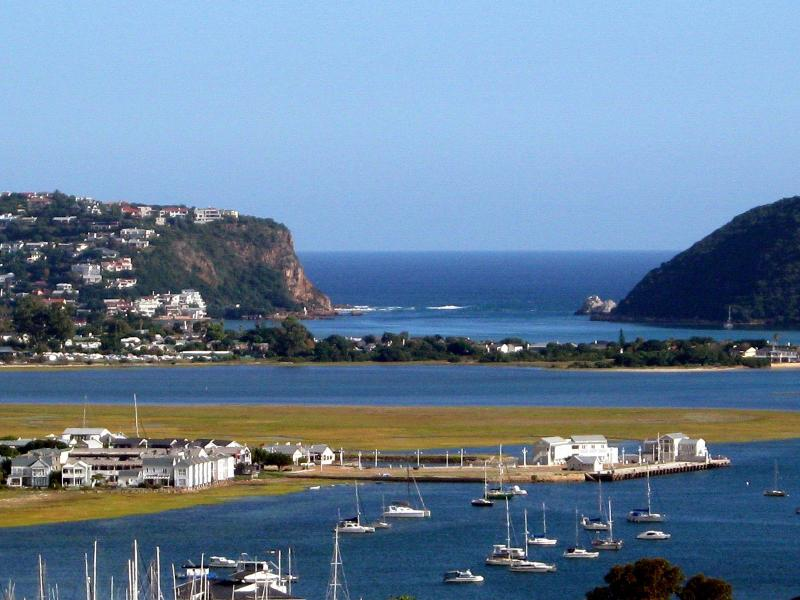 View from the deck - Interlude in Knysna S/C Chalet (Entire House) - Knysna - rentals