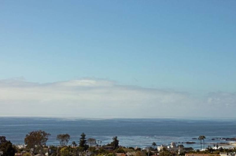 View from bed inside the Studio - Ocean View Contemporary Designer Studio - Laguna Beach - rentals