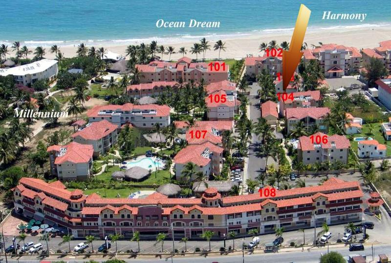 Stunning Art Deco 2/2 Ocean Dream beachfront apt - Image 1 - Cabarete - rentals