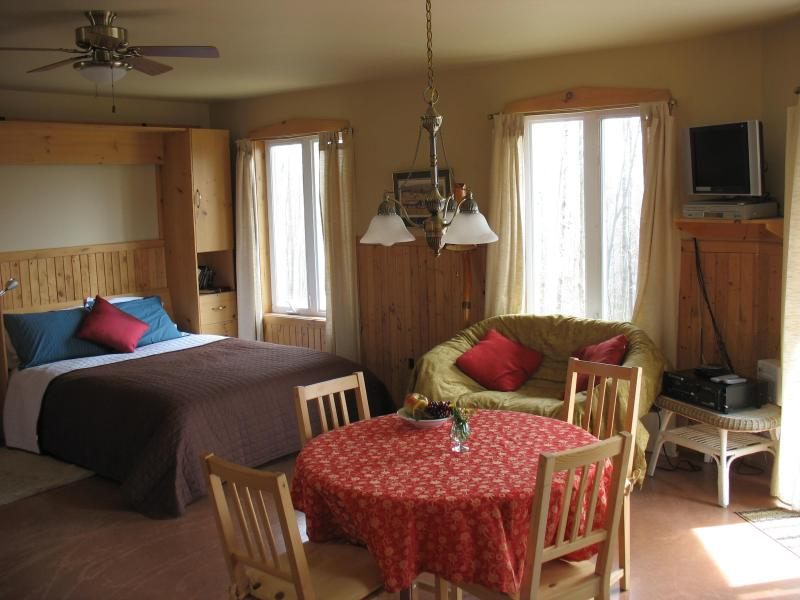 Cosy accommodation surrounded by nature! Two modern, spacious, self-catering chalets - Image 1 - North Hatley - rentals