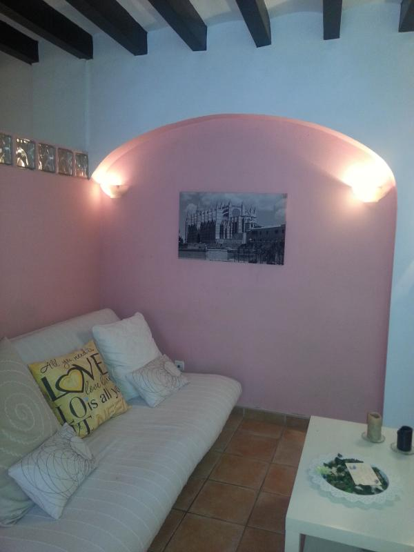 COZY LIVING ROOM - LOVELY OLD TOWN AND BEACH APARTMENT IN PALMA - Palma de Mallorca - rentals