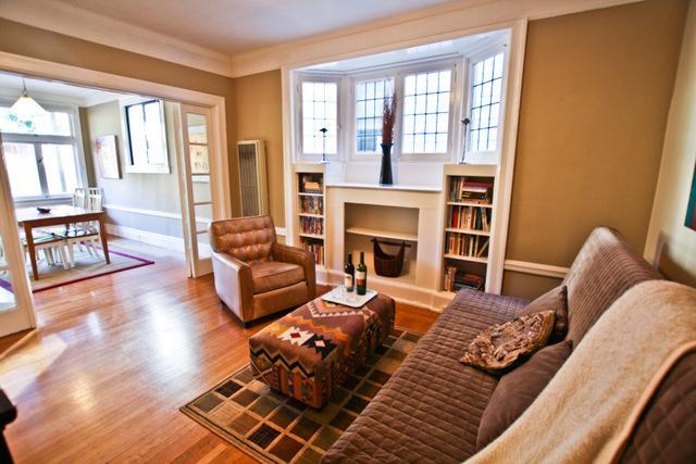 Living room - Cole Retreat - San Francisco - rentals