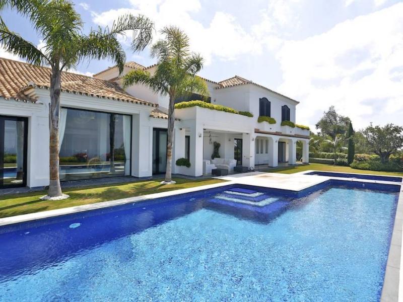 Luxury Villa Golden Mile - Image 1 - Marbella - rentals