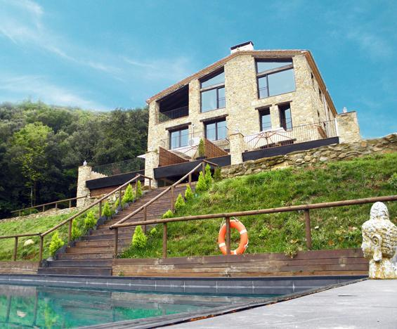 LANDHAUS MAS PRAT DE CASTELLAR - Image 1 - La Vall de Bianya - rentals