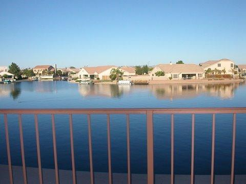 View from balcony - Lakefront Villa with awesome view from every room - Peoria - rentals