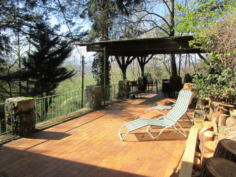 Terrace with view - SOMETHING SPECIAL FOR NATURE LOVERS WITH BEAUTIFUL PANORAMIC VIEW - 3 STARS - Offenburg - rentals