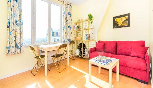 Sunny Apartment Rental in Montmartre - Image 1 - Paris - rentals