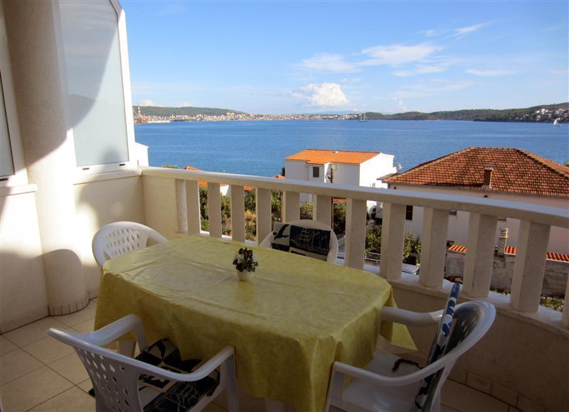 Balcony and view - Apartments Barbara - A7, Seget Donji, Trogir - Seget Donji-Vranjic - rentals