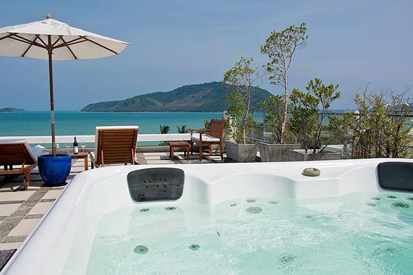 3 Bedroom Luxury Apartment with Sea Views in Rawai - Image 1 - Rawai - rentals
