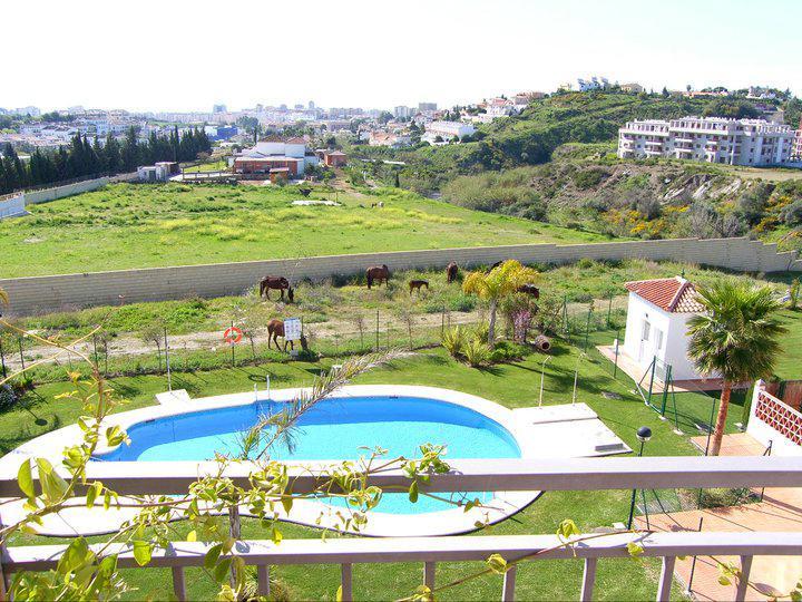 Swimming pool - Duplex in Mijas Costa, pool, terrace, A/A - Mijas - rentals