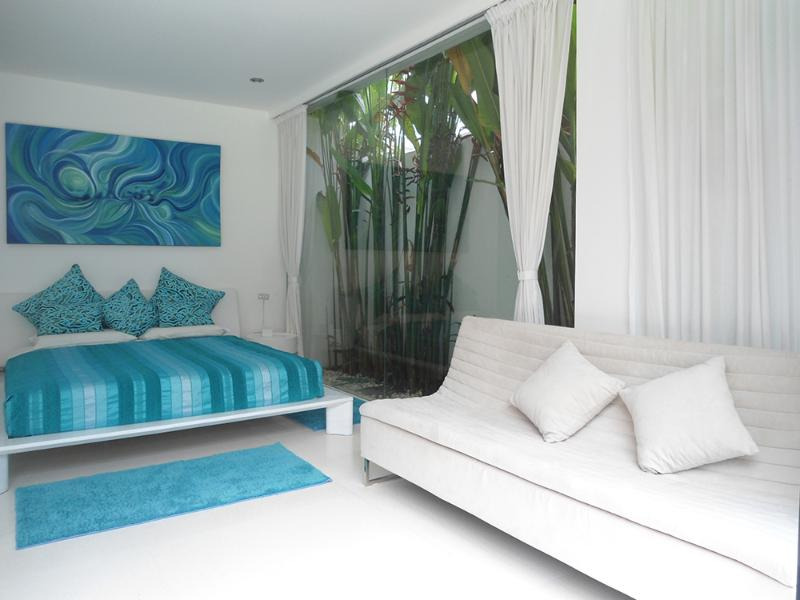 Garden Guestroom 2 Bed with relaxing sofa - Boutique Room Garden View 2 - Kerobokan - rentals
