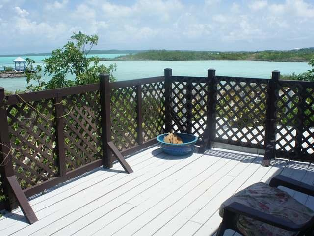 view from deck (cottage #2) - Chalk Sound Cottage(s) with private beach - Providenciales - rentals