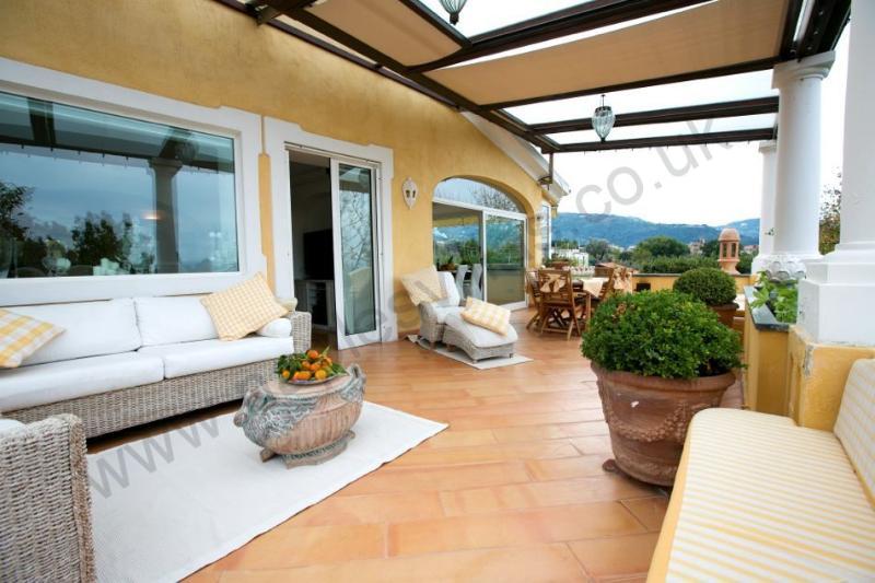 Spacious and elegant apartment near Sorrento town - Image 1 - Meta - rentals