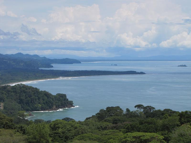 Dramatic coastline, Whales Tail - Casa Vista, Osa Vistas Acres - Dominical - rentals