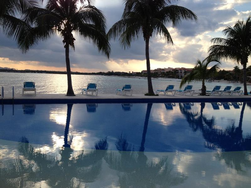 Sunset at Chac Hal Al - Fantastic Ocean View, Chac Hal Al Puerto Aventuras - Puerto Aventuras - rentals