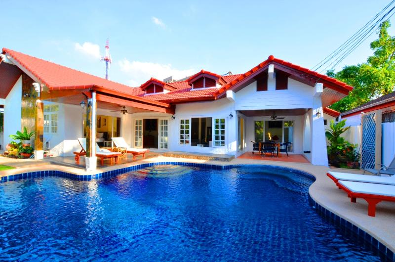 4 bed room luxury villa with private pool - Grand Condo Jasmine pool Villa - Pattaya - rentals